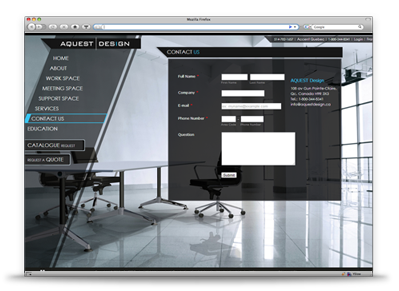 Aquest Design Website Design